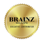 As seen and featured Agnese Rudzate Brainz Magazin logo