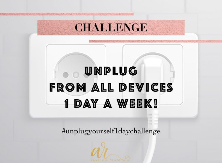Agnese Rudzate unplug 1 day challenge clarity peace of mind